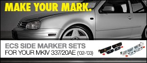 VW 337/20AE Side Marker Light Set