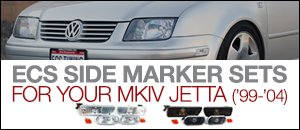 VW MKIV Jetta Side Marker Light Set