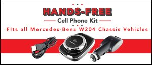 Mercedes-Benz W204 Hands-Free Cell Phone Kit