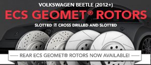 VW Beetle 2012+ ECS GEOMETreg; Rotors