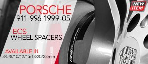 PORSCHE 911 996 ECS Wheel Spacers