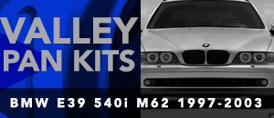 BMW E39 M62 540i Valley Pan Kits