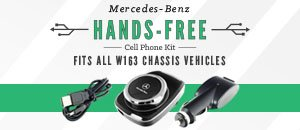 Mercedes-Benz W163 Hands-Free Cell Phone Kit