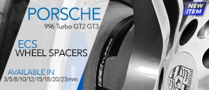 PORSCHE 996 Turbo GT2 GT3 ECS Wheel Spacers