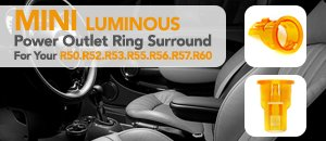 MINI Luminous Power Outlet Ring Surround