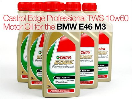 Ecs news bmw m castrol edge professional tws 10w60 motor oil for Bmw approved motor oil
