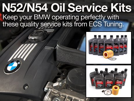 Ecs News Bmw N52 N54 Oil Service Kits